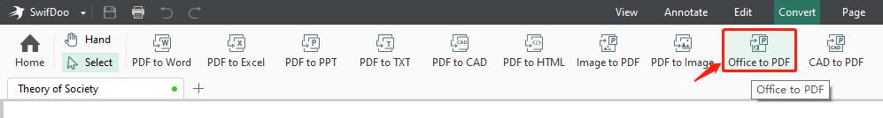 swifdoo-pdf-interface