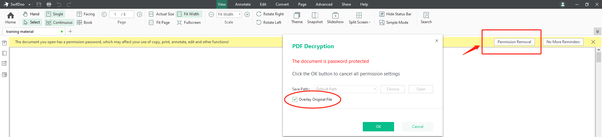 swifdoo-password-remover