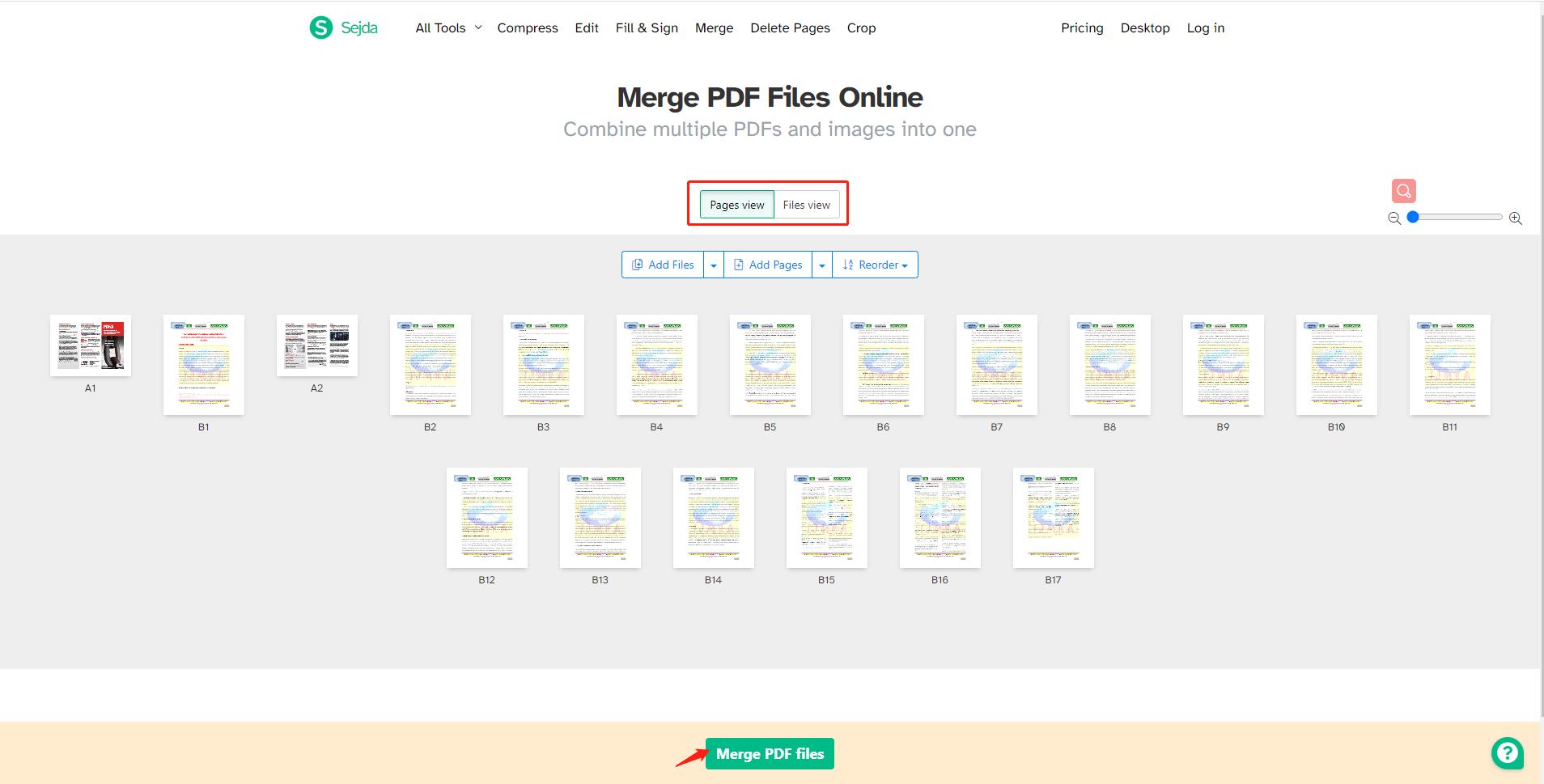 sejda-pdf-merger